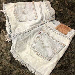 Levi's Shorts - Levi's Original Cut Off Short